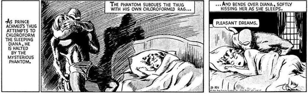Ur dagsstrippen den 21 mars 1936