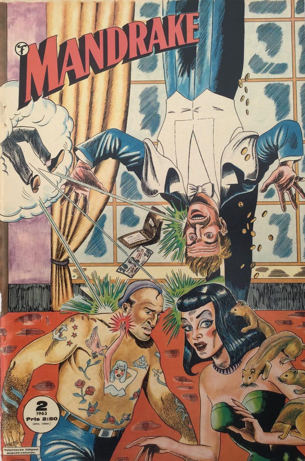 Mandrake (Formatic) nr 2, 1963