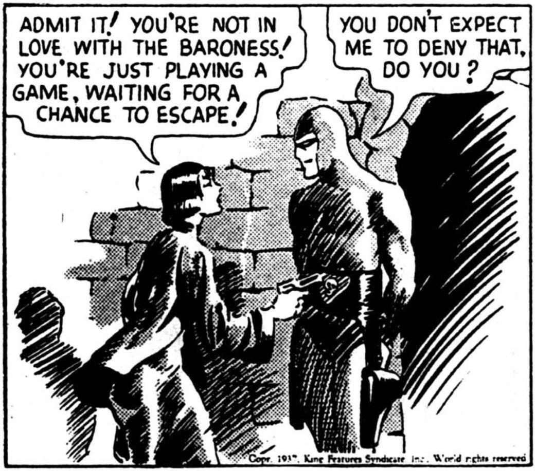 Ur dagsstrippen fen 25 januari 1937