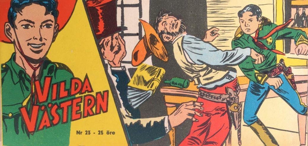 Vilda Västern med Kapten Miki nr 23, 1959