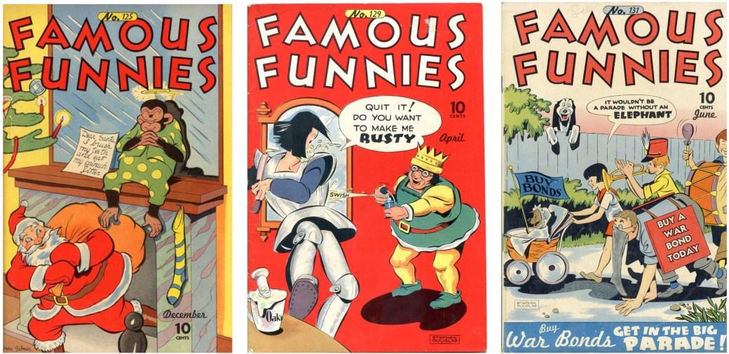 Famous Funnies var en serietidning med varierat serieutbud som publicerades mellan 1934 och 1955
