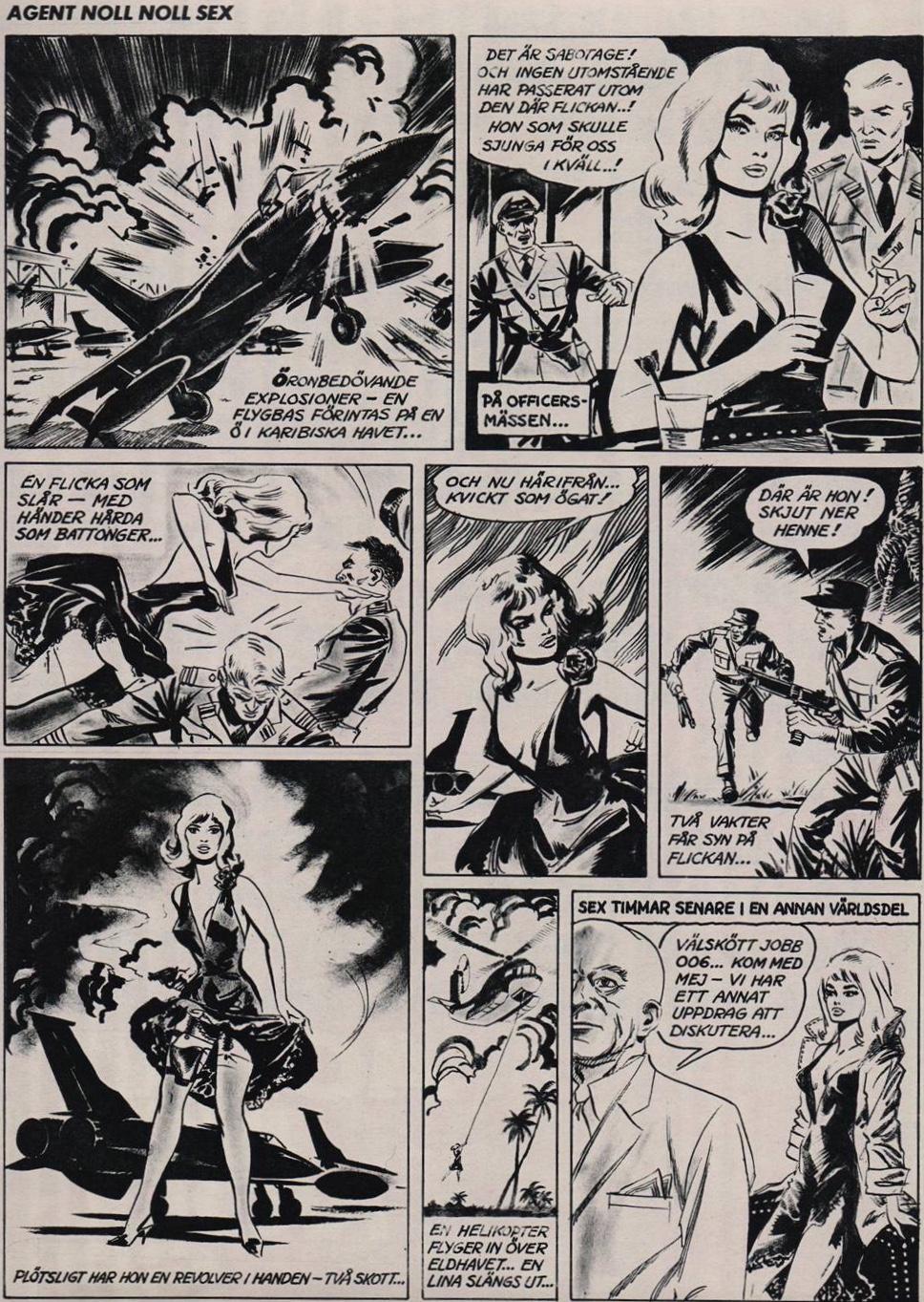 Agent noll noll sex av Eugen Semitjov, ur SE nr 24, 1965
