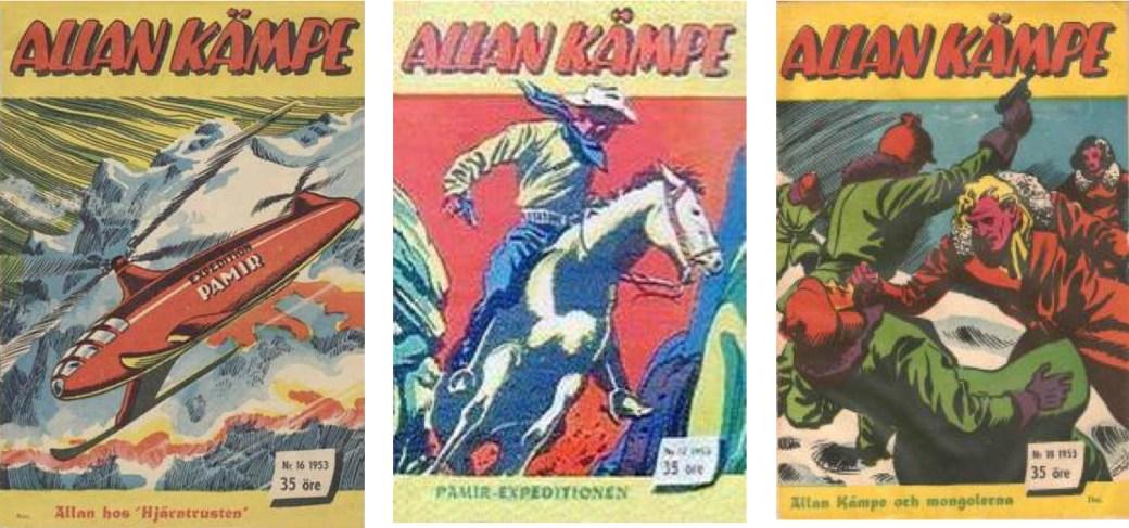 Allan Kämpe nr 16-18, 1953