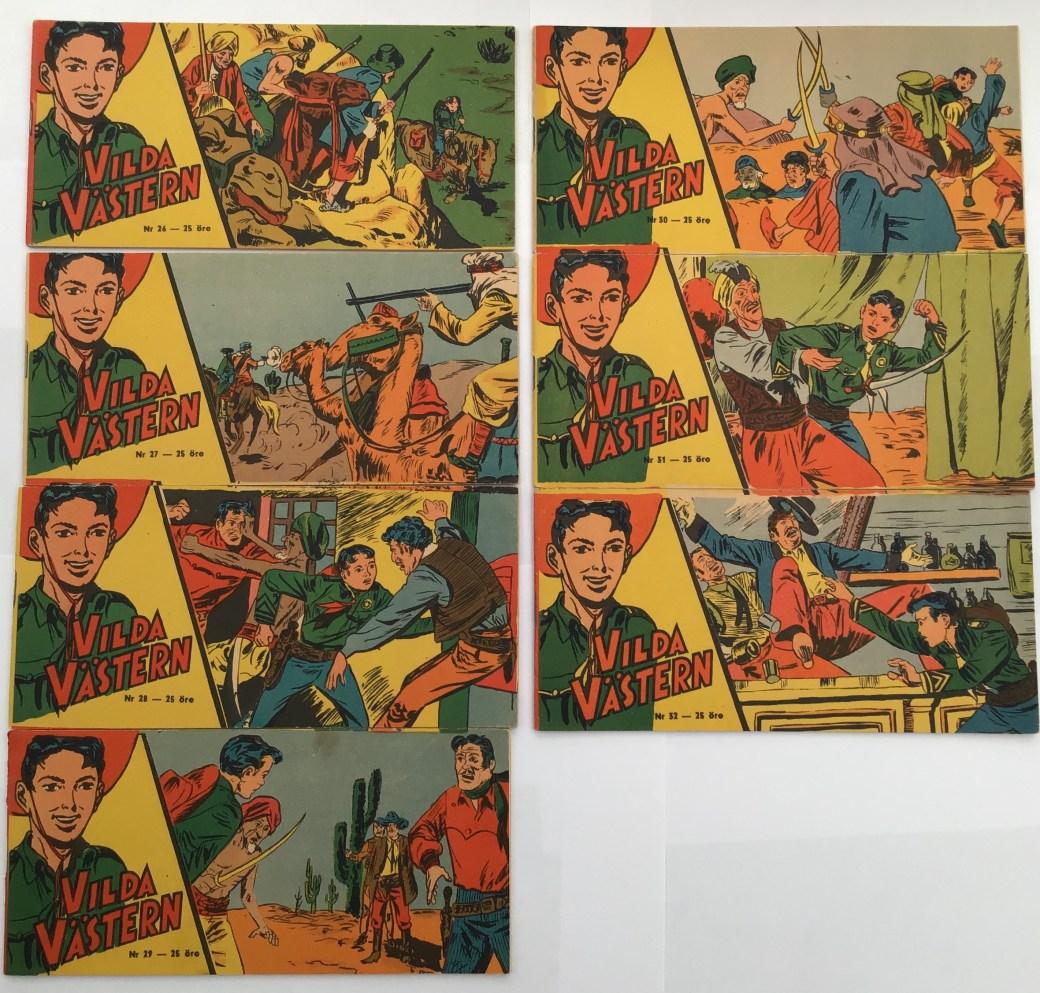 Vilda Västern nr 26-32, 1958