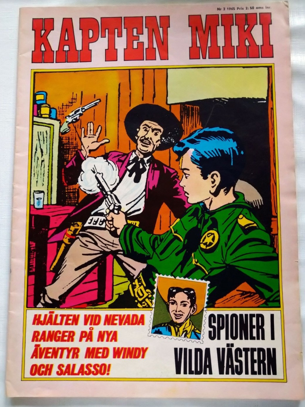 Kapten Miki nr 2, 1965