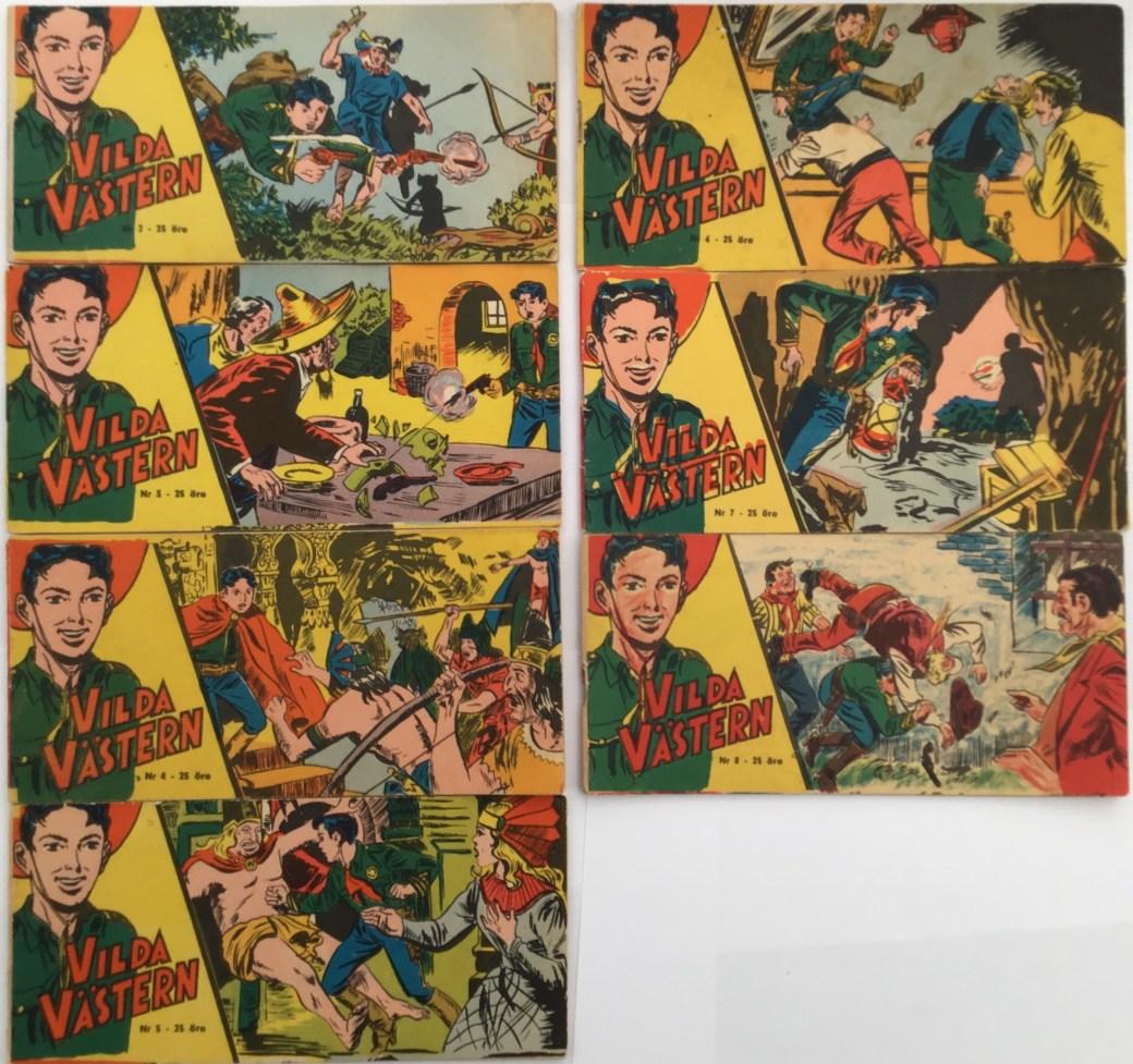 Vilda Västern nr 2-8, 1959