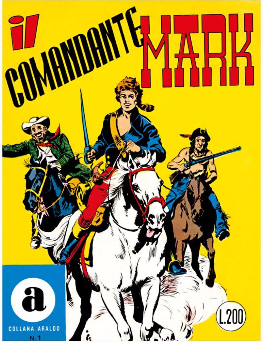 Il Comandante Mark, nr 1, 1966