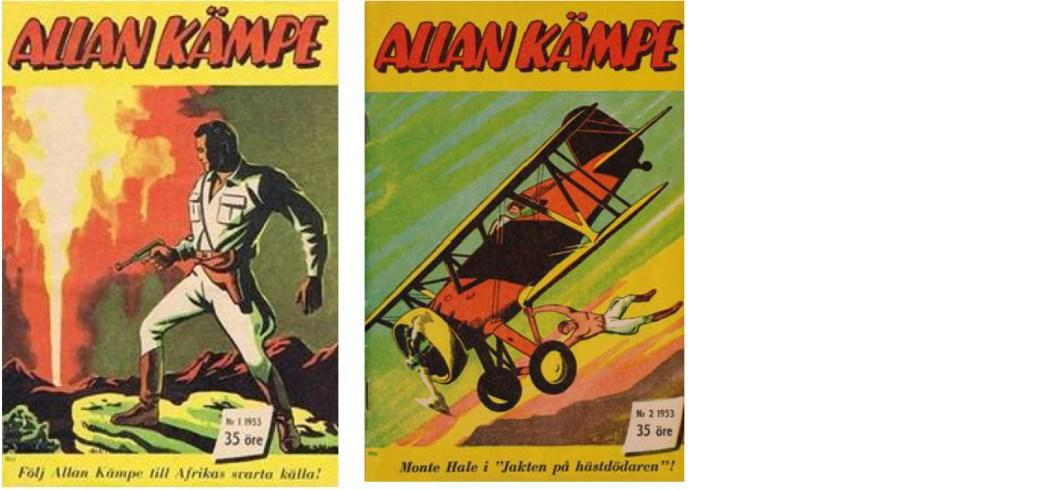 Allan Kämpe nr 1 och 2, 1953