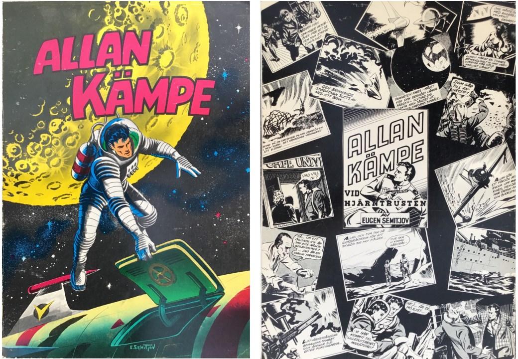 Allan Kämpe som samlingsalbum från 1976