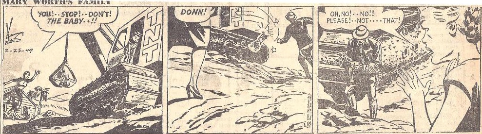 Mary Worth från 25 februari 1949