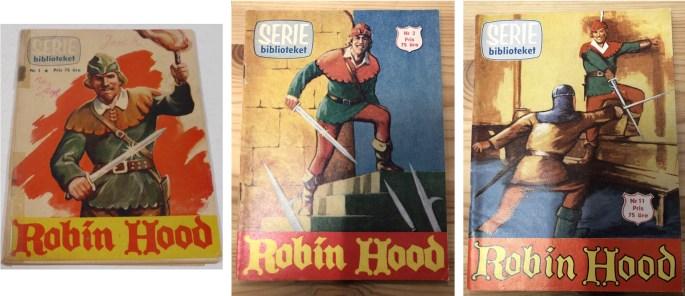 Robin Hood dominerade innehållet i Seriebiblioteket (Center-Förlaget) första året