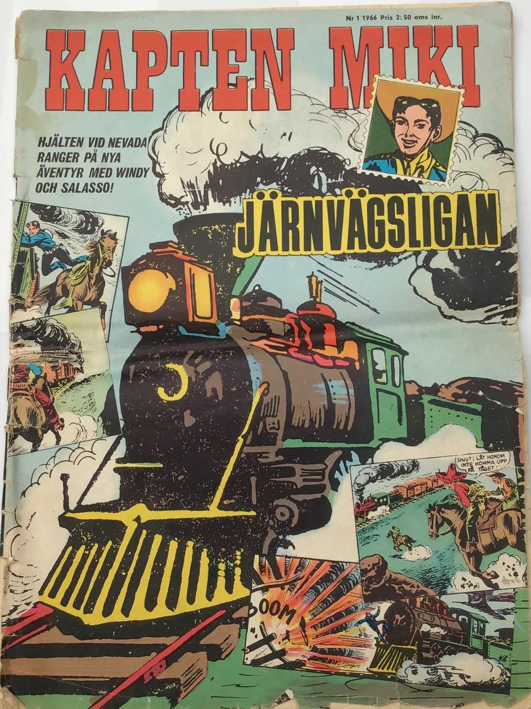 Kapten Miki nr 1, 1966