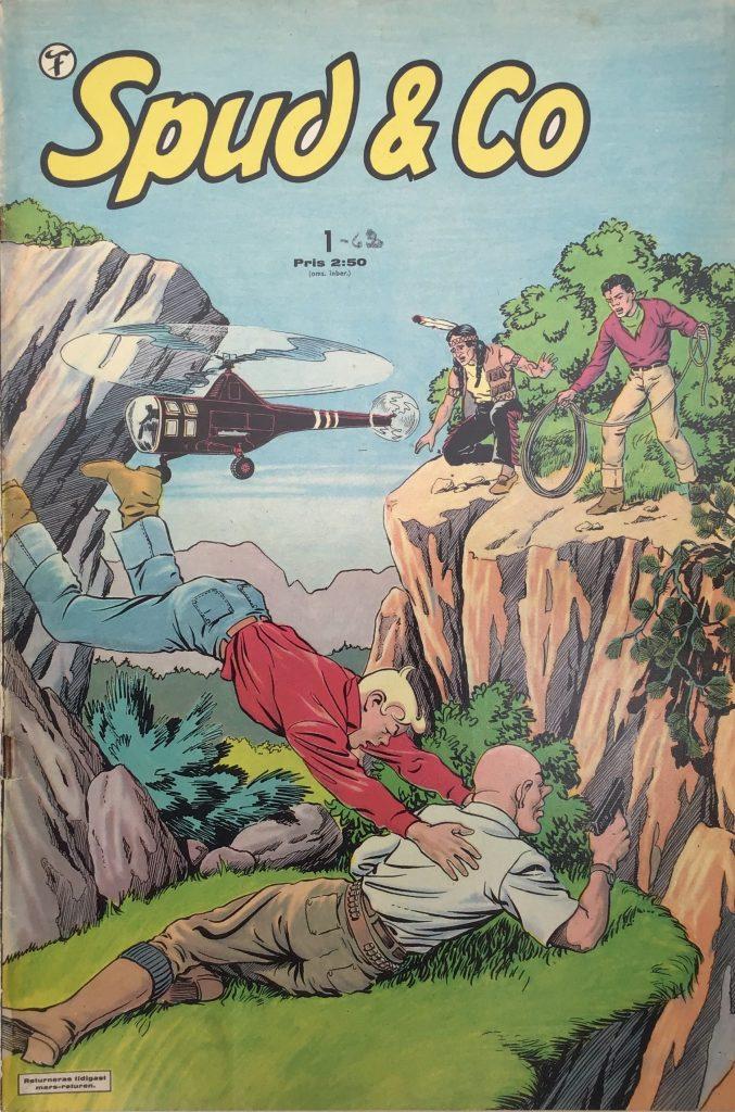 Omslag till Spud & Co nr 1, 1962