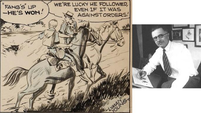 Lyman Young, tecknare av Spud och Tim