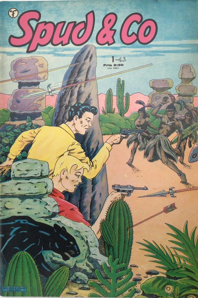 Omslag till Spud & Co nr 1, 1963