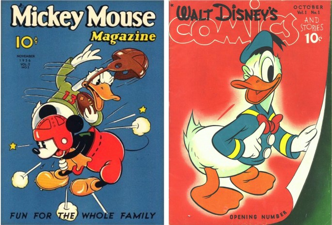 Serietidningen Mickey Mouse Magazine blev så småningom Walt Disney's Comics and Stories