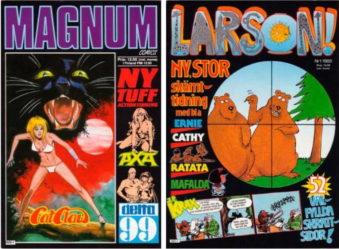 Magnus och Larson! gav förlaget Pandora Press framgång
