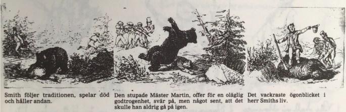 Fritz von Dardel tecknade Herrar Black & Smith på väg till Skandinavien i mitten av 1800-talet