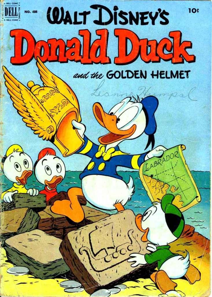 Donald Duck and the Golden Hemet