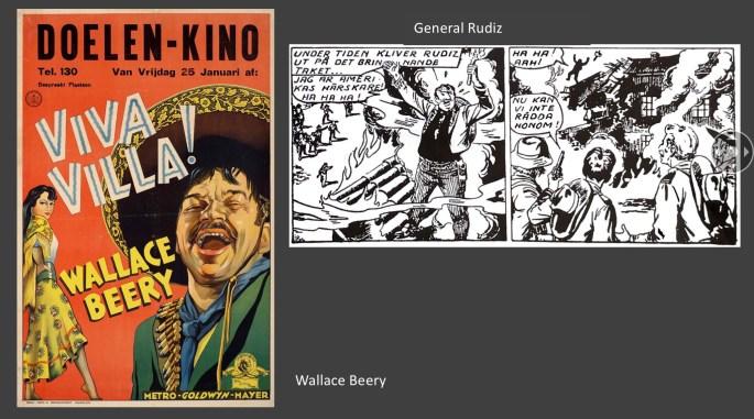 General Rudiz är inte helt olik Wallace Beery