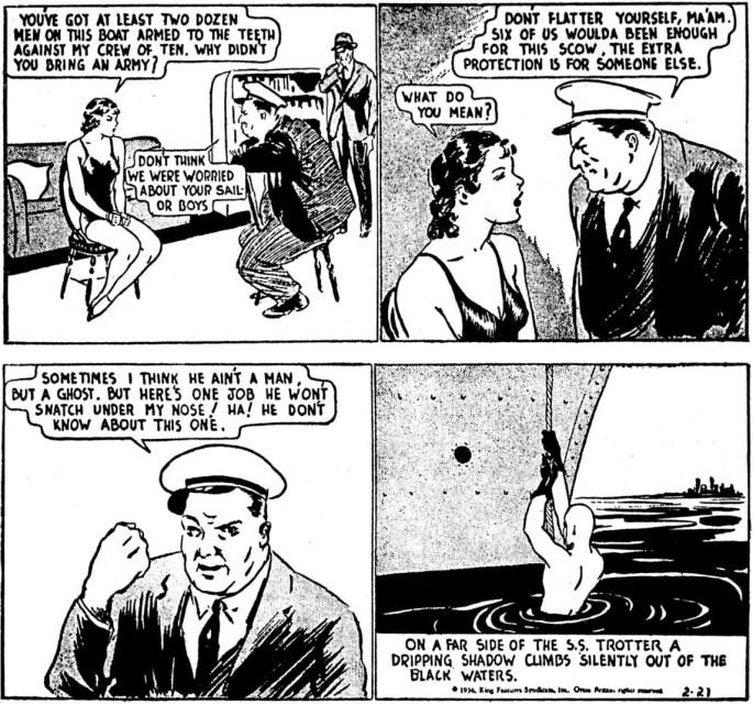 Dagsstrippen den 21 februari 1936