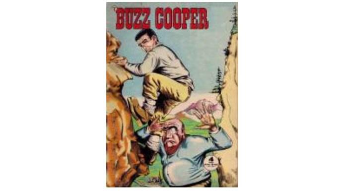 Omslag till Buzz Cooper (Formatic) nr 4, 1963.