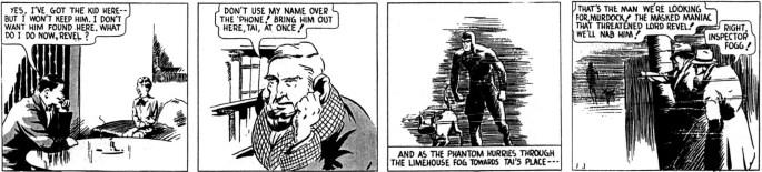En dagsstripp från den 3 januari 1938