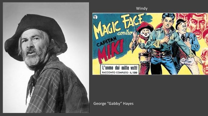 """George """"Gabby"""" Hayes är en av de filmstjärnor som liknar seriefigurer i serierna"""