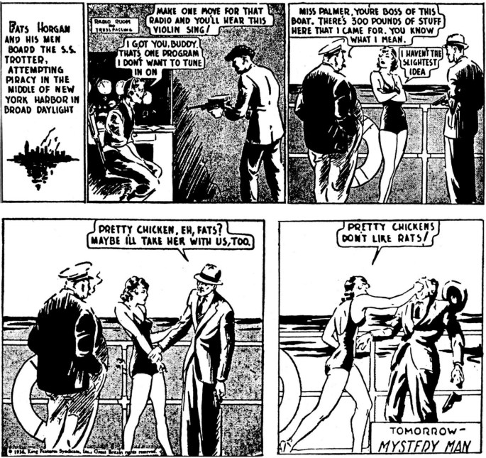 Dagsstrippen den 20 februari 1936