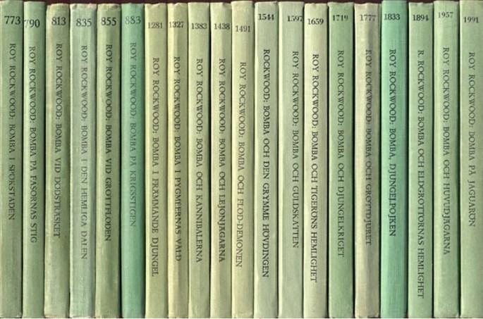 Bomba utkom som titel på Wahlströms Ungdomsböcker.