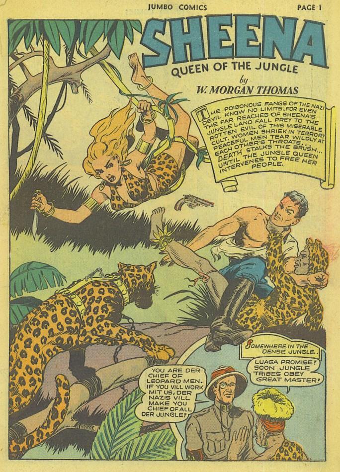 En sida ur Jumbo Comics #42