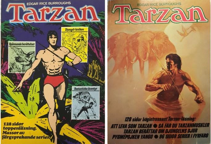 Den stora Tarzan-boken nr 2 (1972) och nr 3 (1973)