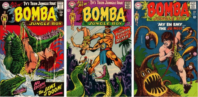 Bomba, the Jungle Boy #1-3. ©DC