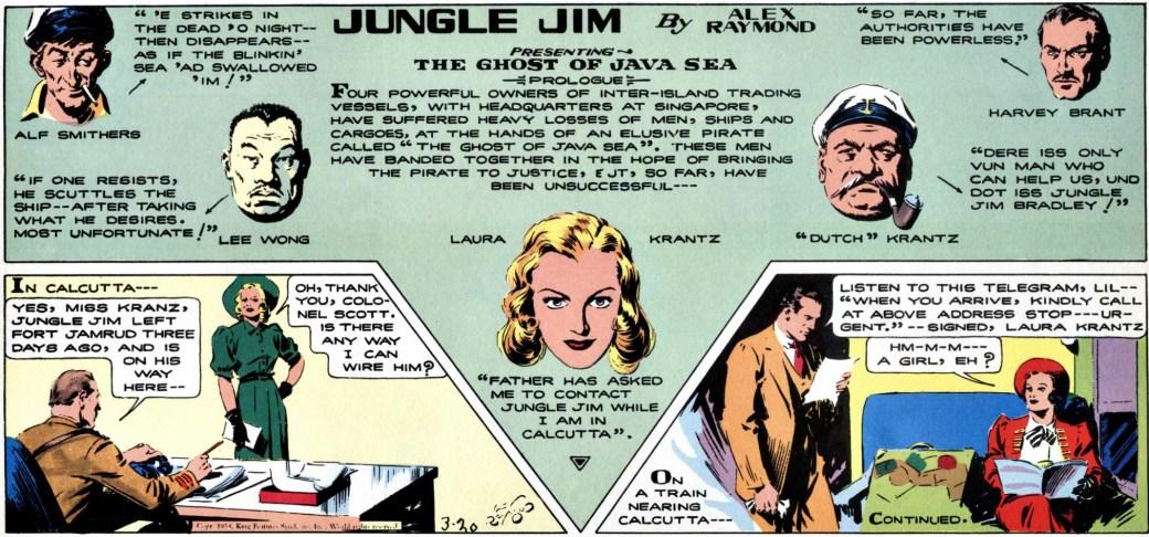 Episoden som börjar den 20 mars 1938 har en tydlig introduktion.