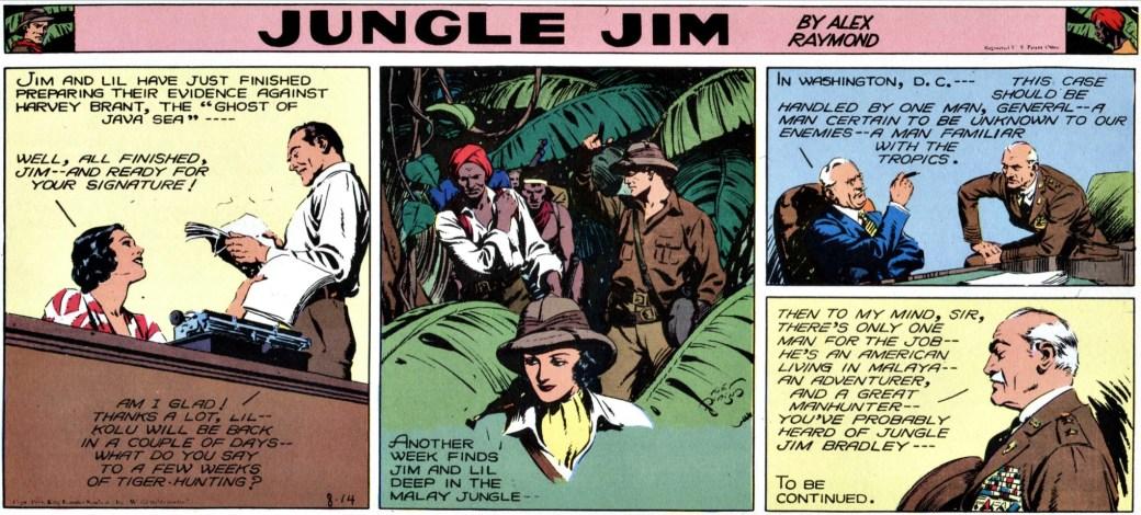 Den 14 augusti 1938 inleds episoden om despoten på de Paguanska öarna