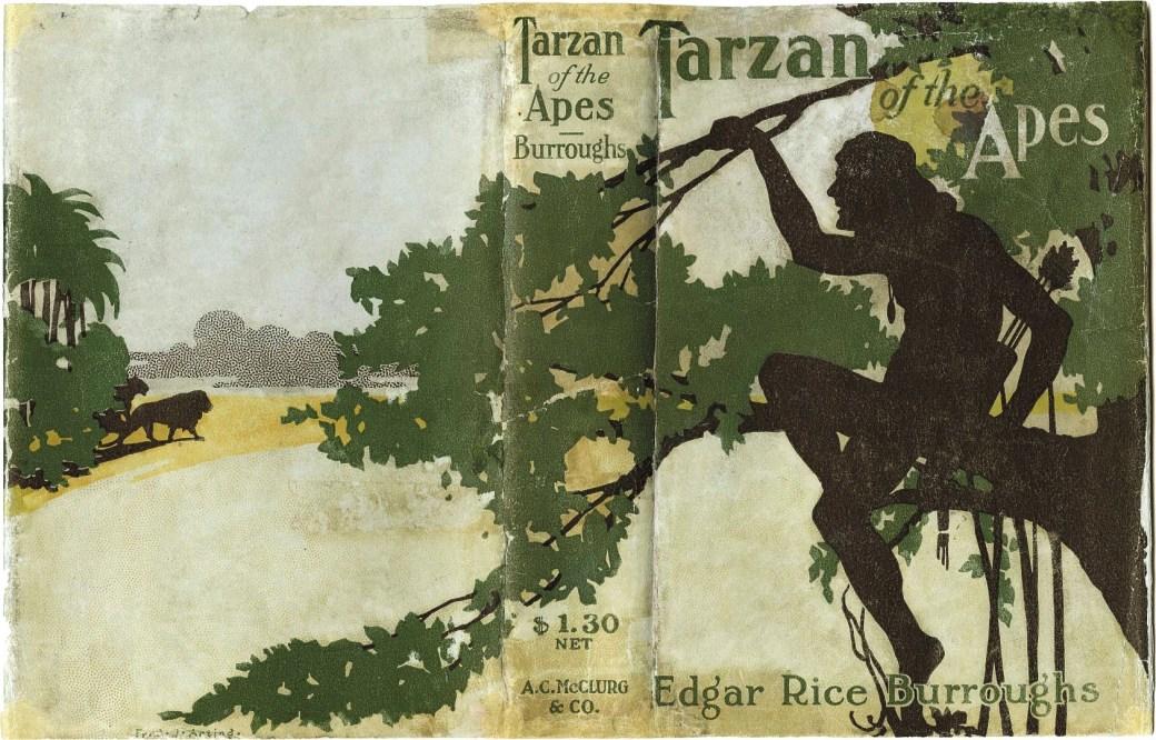 Edgar Rice Burroughs skapade Tarzan i romanen Tarzan of the Apes 2012.