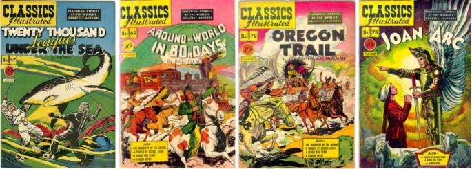 Kiefer tecknade även omslag till utgåvor med sina serier. ©Gilberton