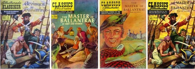 Omslag till IK nr 73, am. CI #82 från 1951 resp. 1968, och från br. CI #82 från 1958 (t.h.). ©IK/Gilberton/T&P