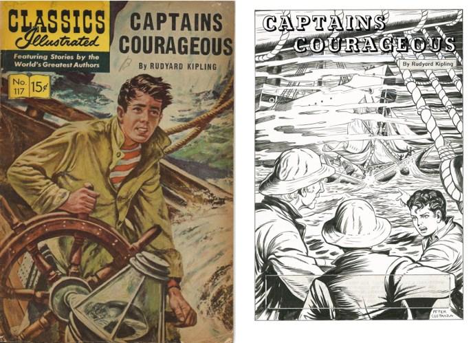 Ett gemensamt tema för Peter Costanza tycks vara serier om sjöfart.