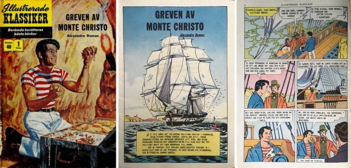 Omslag och inledande sidor av IK #40 från 1957. ©IK/Gilberton