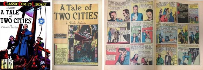 Classic Comics #6, med en serie av Stanley Zuckerberg, signerad Stanley Maxwell. ©Gilberton