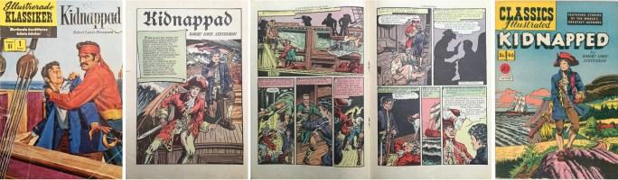 Illustrerade klassiker nr 51, och omslaget till första editionen av CI #46.