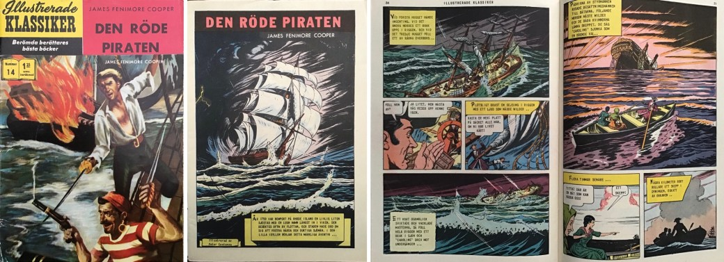 Omslag, förstasida och ett uppslag till IK ur nr 14. ©IK/Gilberton
