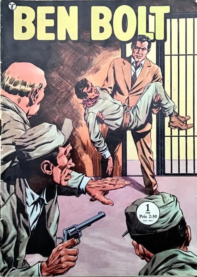 Omslag till serietidningen Ben Bolt nr 1, 1964.