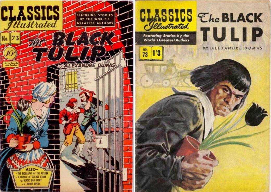 CI #73, i amerikansk och brittisk edition.