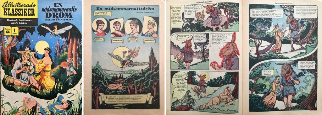 Omslag, förstasida och ett uppslag ur IK nr 64. ©IK/Gilberton