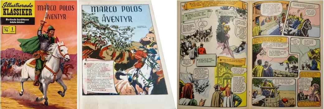 Illustrerade klassiker 71-80: Omslag, förstasida och mittuppslag ur IK nr 76. ©IK/Gilberton
