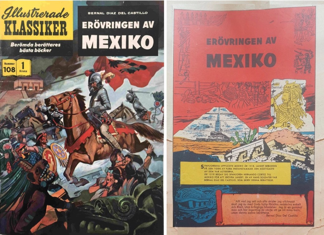 Omslag och förstasida ur IK nr 108. ©IK/Gilberton