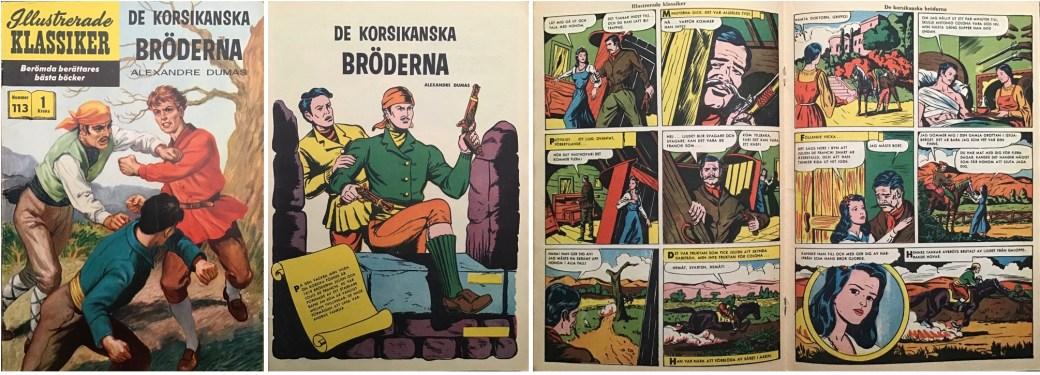 Omslag, förstasida och mittuppslag ur IK nr 113. ©IK/Gilberton