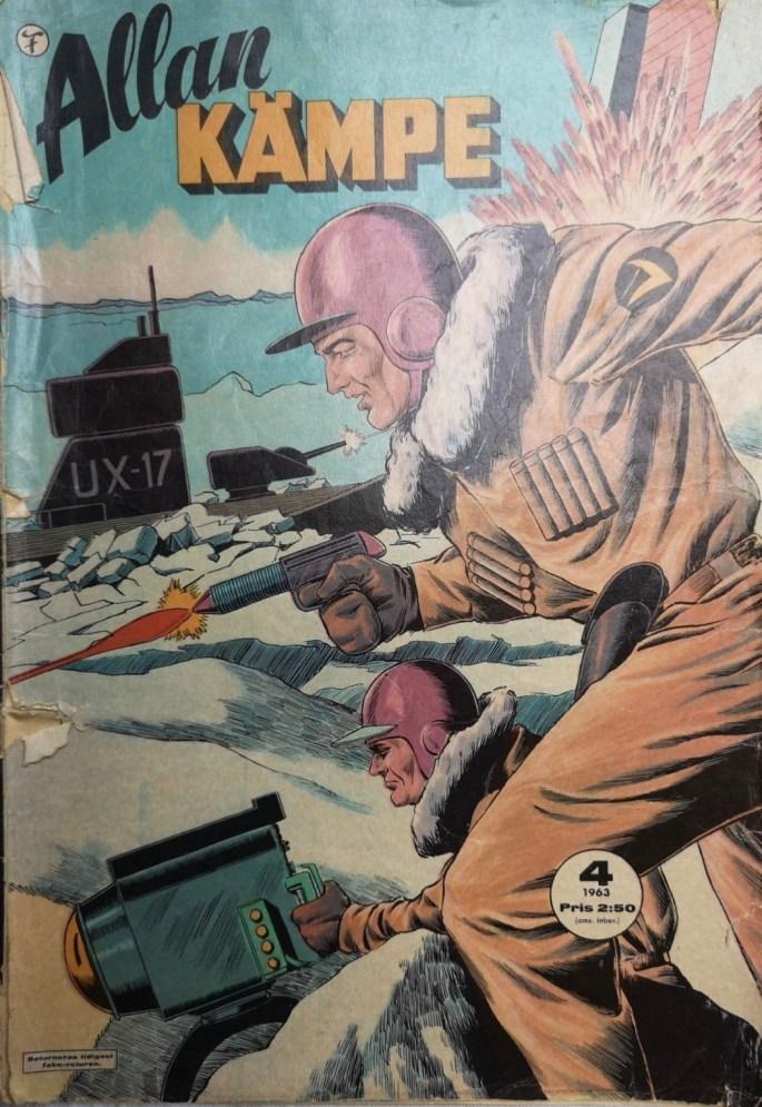 Allan Kämpe nr 4, 1963 från Formatic Press